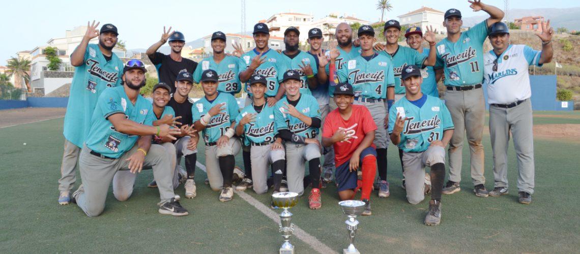 Marlins Campeón Liga Canaria de Béisbol